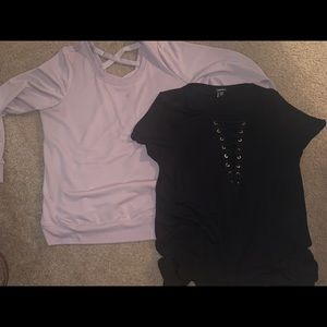 Two torrid size 1 shirts